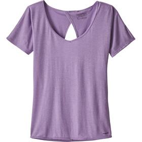 Patagonia Mindflow - Camiseta manga corta Mujer - violeta